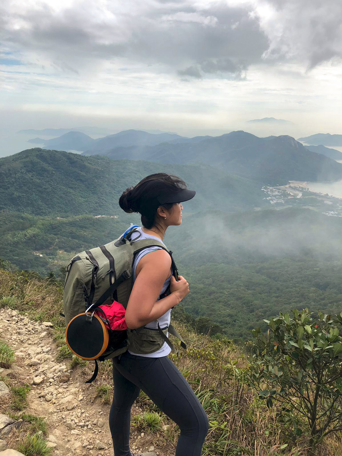 Laurel on Lantau Trail JS