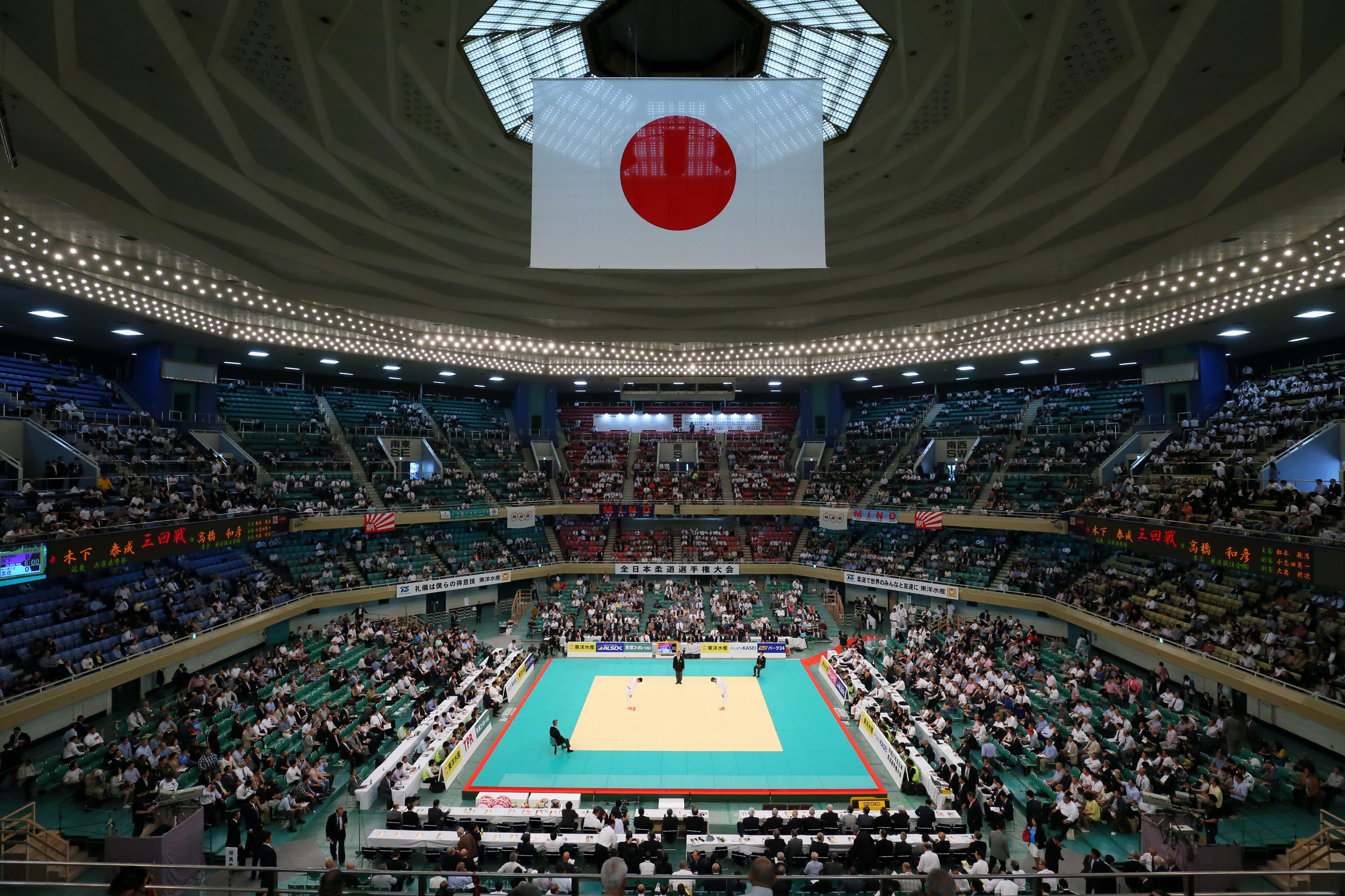 Nippon Budokan, Tokyo, Japan. 29th Apr, 2015. General view, APRIL 29, 2015 - Judo : 2015 All Japan Judo Championships at Nippon Budokan, Tokyo, Japan. © Yohei Osada/AFLO SPORT/Alamy Live News